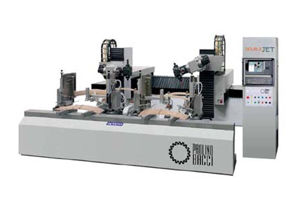 DOUBLE-JET /13 AXIS CNC MACHINING CENTER